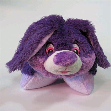 Purple Pillow Pet by Plush Pillows Plushez Purple Bunny Pillow Pet 18