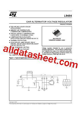 l9484 datasheet pdf stmicroelectronics
