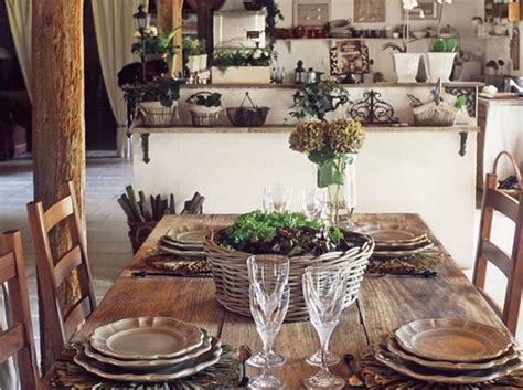country furniture for stunning dining room