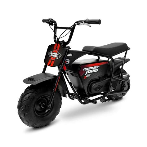 Mini Motorrad Motor by Monster Moto 1000 Watt Electric Mini Bike Mm E1000 Br