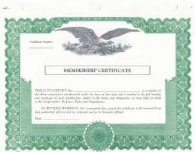 Blank Stock Certificate Template by Blank Stock Certificate Template Selimtd