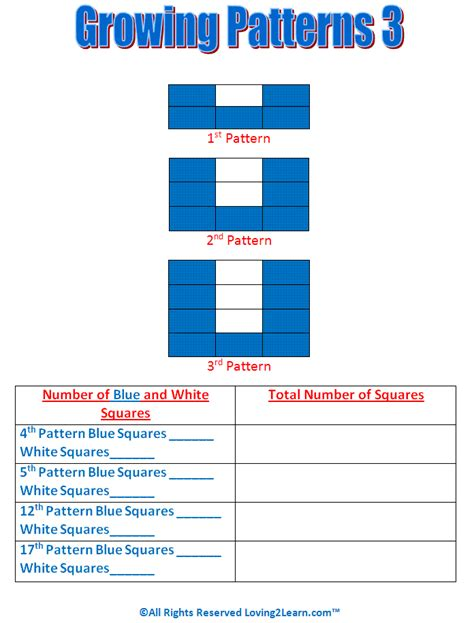 growing pattern in math super subjects mighty math patterns and algebra