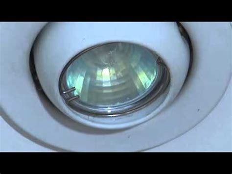 Halogen Ceiling Lights Changing Bulb by How To Replace A Mini Can Light Bulb Doovi