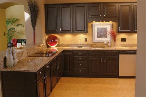 color schemes for kitchens with dark cabinets kitchen colors with dark cabinets