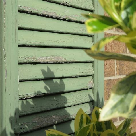 exterior paint peeling redo your faded crackling shutters with non fade