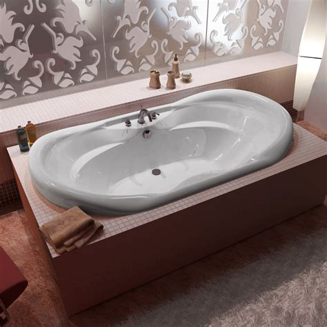 bathtub with jets atlantis 4170i indulgence drop in soaking bathtub atg stores