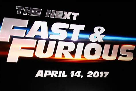 fast and furious 8 launch date fast furious 8 se d 233 roulera 224 la big apple cin 233 and