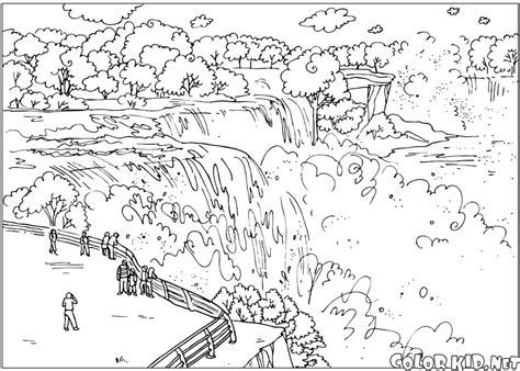 Coloring Page The United States Of America