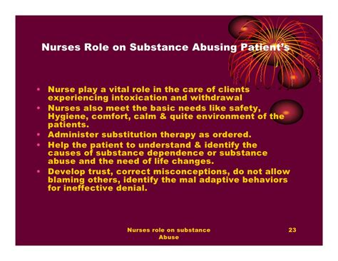 Detox Nursing Interventions by Nurses On Substance Abuse By Philo