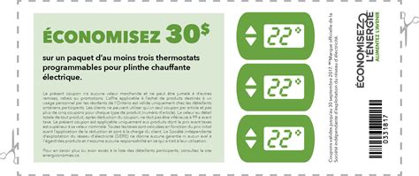 Coupon Code For Ls Plus by 201 Nergiconomies R 233 Sidentiels Coupons Thermostats