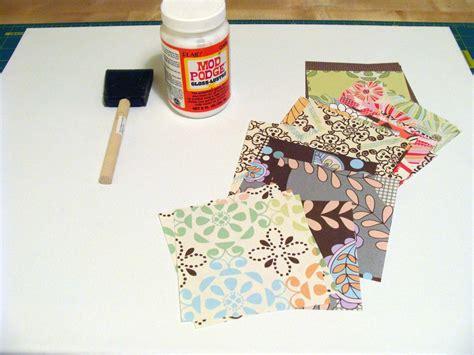 Can You Decoupage Photos - diy patchwork decoupage canvas honeysuckle