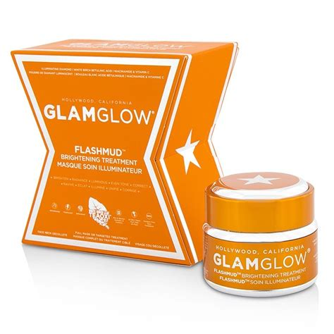 Glamglow Paket Youthmud Tinglexfoliate Treatment Free Brush glamglow flashmud brightening treatment fresh