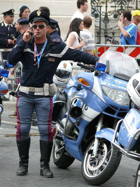 by the polizia di stato italian state police taken at a polizia polizia di stato italian police giro d 180 italia