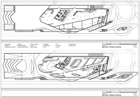 zaha hadid floor plans salerno maritime station by zaha hadid inaugurated in italy