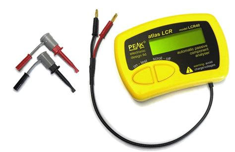 how to measure capacitor with lcr meter peak electronic design limited atlas lcr passive component analyser model lcr40