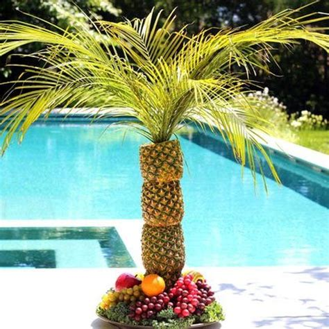 Pineapple Tree Decoration by 17 Best Ideas About Pineapple Palm Tree On