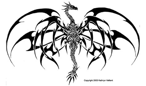 gothic dragon tattoo designs todays