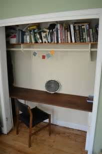 brilliant closets turned into space saving office nooks