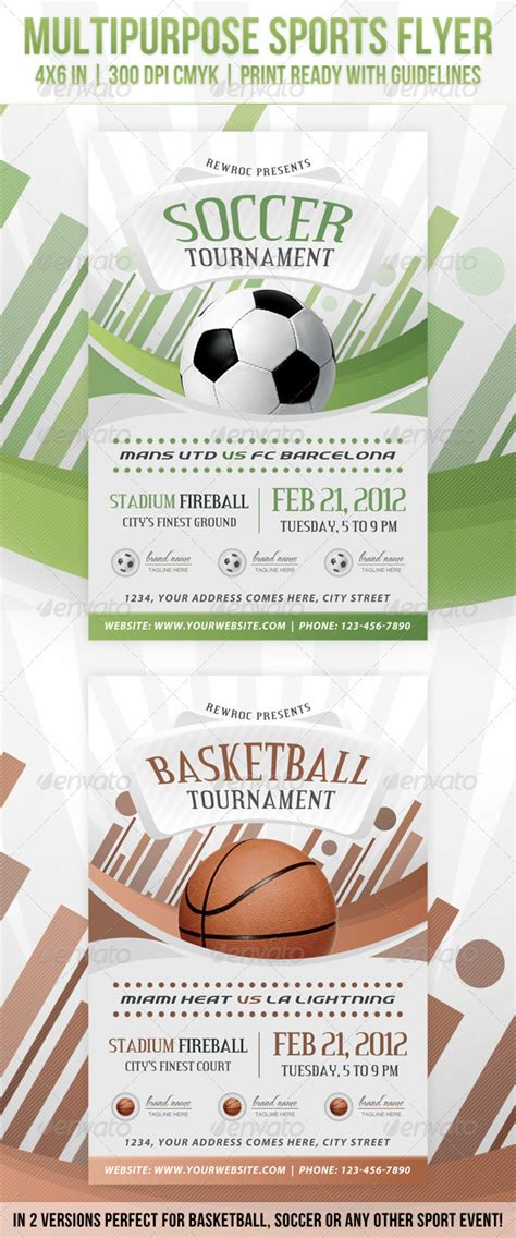 sports event flyer template multipurpose sports event flyer by rewroc graphicriver