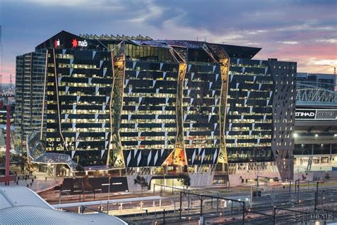 national australia bank melbourne address to the point nab building by woods bagot