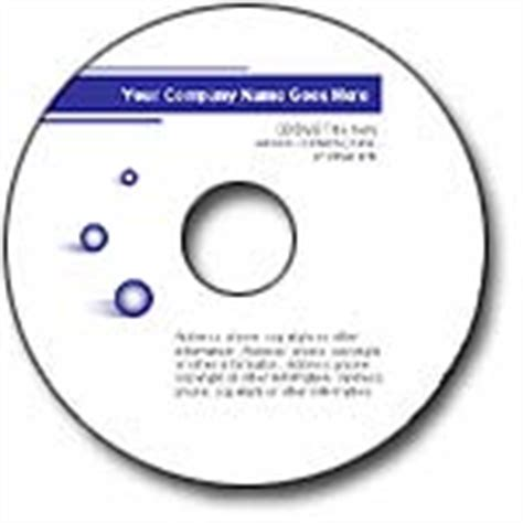 cd label template xerox