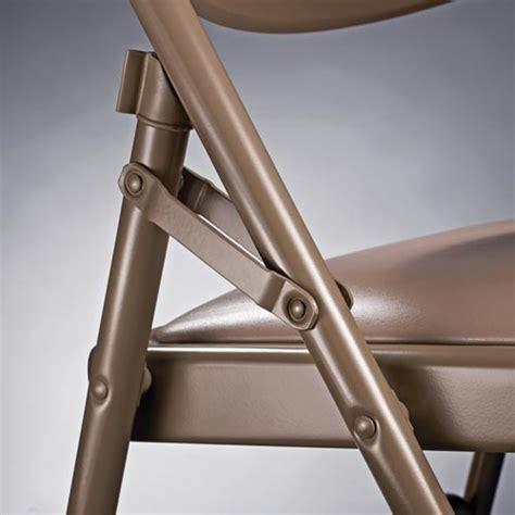 samsonite 57310 fanback steel folding chair with bonded
