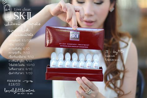 Sk Ii Whitening Spot Concentrate bloggang puy isme พร ว ว sk ii ไอเท มใหม
