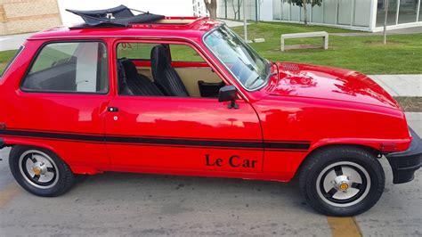 renault car 1980 renault le car 1980 con quemacocos