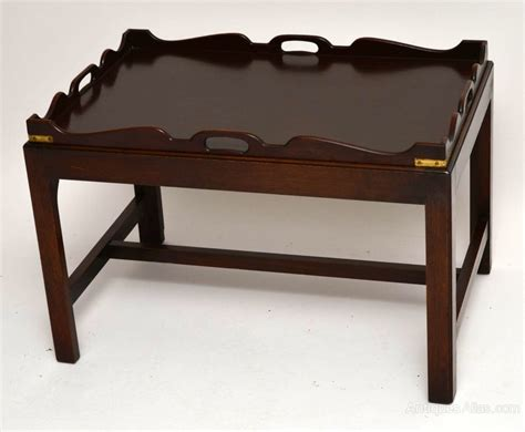 antique mahogany tray top coffee table antiques atlas