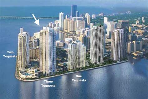 Miami Condo Floor Plans by Three Tequesta Point Condo Brickell Key Miami Condos