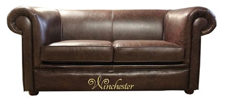 2 seater dark brown leather sofa chesterfield hton 2 seater settee old english dark