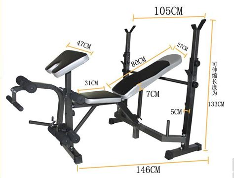 dimensions of bench press bench press equipment dimensions crafts
