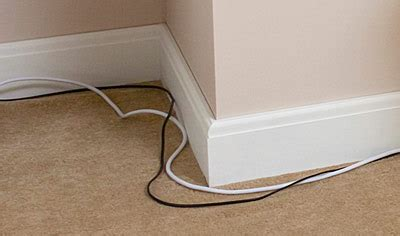 running coaxial cable along baseboard how to hide cables on wall uk american hwy