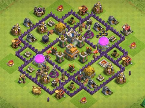 coc layout anti dragon th7 12 best town hall 7 hybrid bases 2018 new 3 air defenses