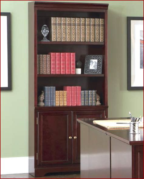 Bookcase With Cabinet Base by Lawrenceville Open Bookcase With Storage Base Cabinet Co800575