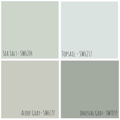 22 best images about paint colors on sw sea salt paint colors and rock bottom