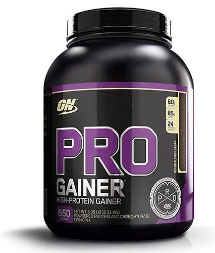 proteine o gainer optimum nutrition pro gainer protein powder review