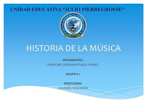 historia de la musica 8420663085 breve historia de la musica
