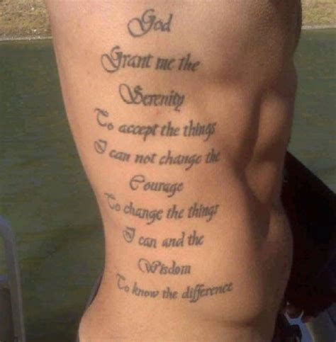 serenity prayer tattoo ideas 20 serenity prayer designs slodive