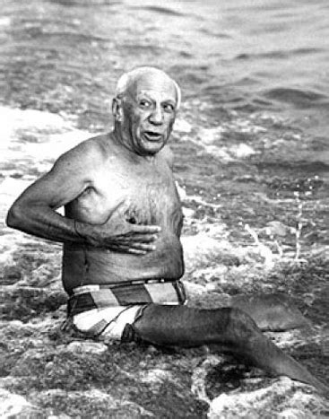 Lucien For The Summer by Picasso On The Cannes 1965 By Lucien Clergue