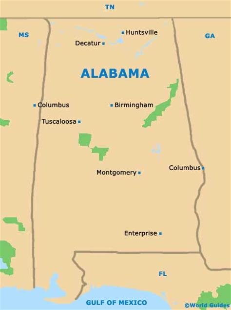 us map alabama state birmingham maps and orientation birmingham alabama al usa