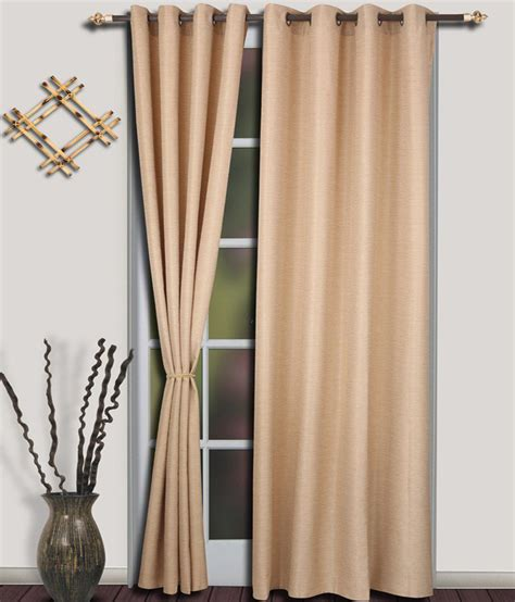 curtains with brass eyelets s9home by seasons brass eyelet long door curtain set pack