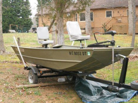 14 ft lowe jon boat 1997 14 foot lowe jon fishing boat for sale in mint hill nc