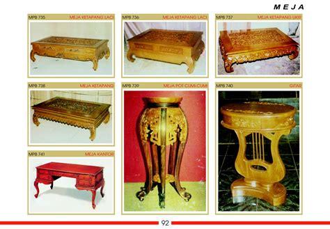 Meja Kursi Oshin Meja Ketapang Meja Kopi Ukiran Jati Jepara pusat aneka meja oshin ketapang kantor makan teh pot