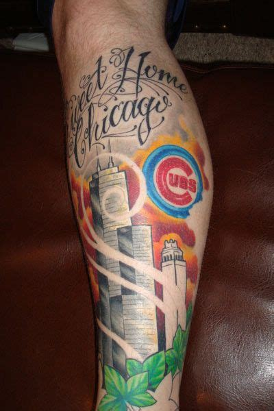 cubs tattoo 17 best images about chicago cubs tattoos on