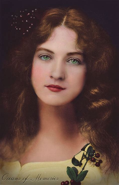 maude color miss maude fealy original black and white image colored by
