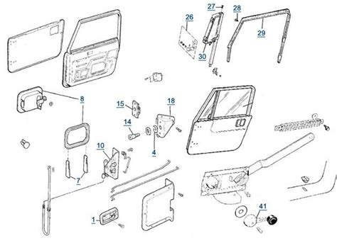 jeep door lock diagram the knownledge doorknobb