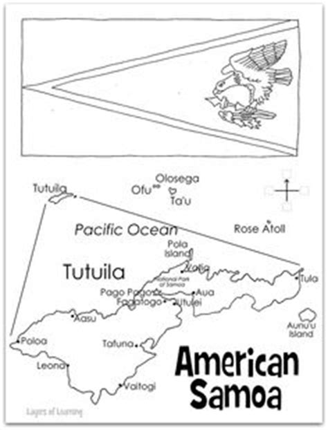 western samoa flag coloring page sonlight core c