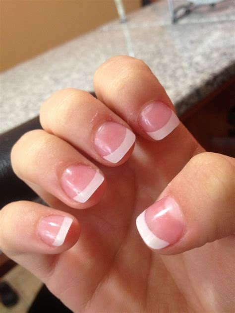 beauty 25 pattern acrylic nail tips french false nail art best 25 french tip acrylics ideas on pinterest french