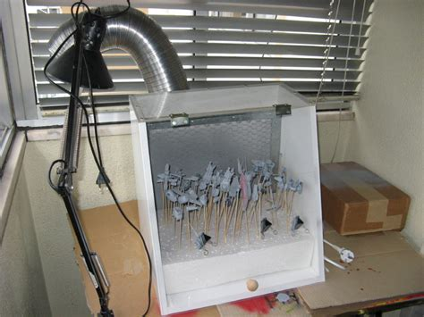 spray painting scale models diy spray booth sprays models and scale models